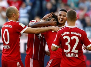 Bayern Menang, Thiago dan Robben Cedera