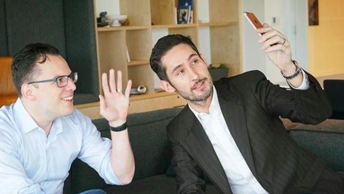 Kevin Systrom dan Mike Krieger, pendiri Instagram yang meninggalkan Facebook. Foto: Istimewa/Facebook
