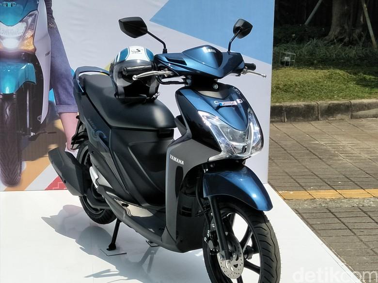 Yamaha Mio S Tubeless dan Ban Lebar (Foto: Ruly Kurniawan)