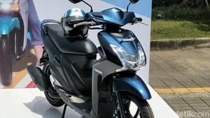 Yamaha Mio Reborn dengan Ban Tubeless dan Lebar