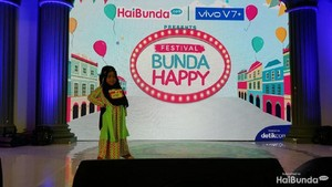 Gemasnya Anak-anak Lomba Hijab Hunt di Festival Bunda Happy