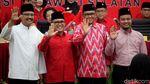 PDIP Umumkan Cagub Jatim dan Sulsel 2018