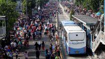 PT TransJakarta Sayangkan Pesepeda Masuk Busway Saat CFD Mampang