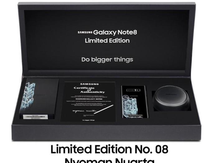 Galaxy Note 8 Edisi Terbatas. Foto: Samsung