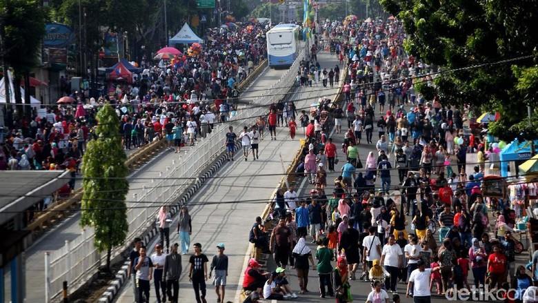 Car Free Day Mampang (Foto: Lamhot Aritonang)