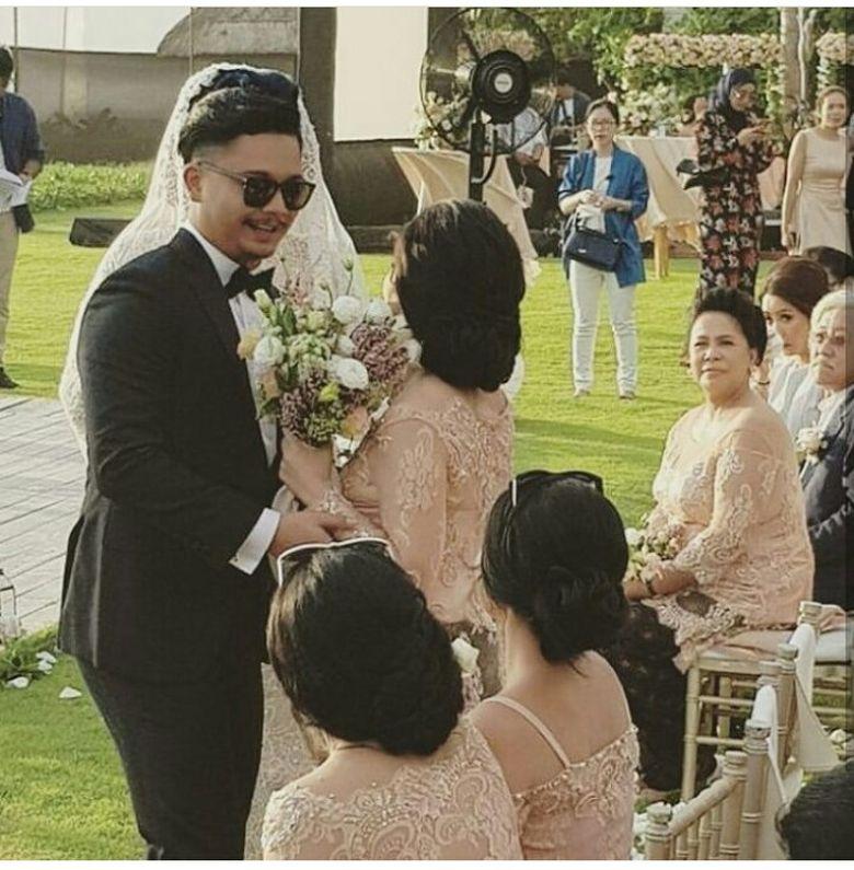 Pantauan detikHOT, pernikahan itu digelar tertutup. Foto: Instagram