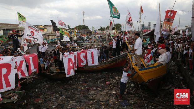 Beda Visi Ahok dan Anies soal Reklamasi Teluk Jakarta