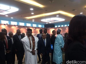 Bertemu Presiden Niger, Dirut WIKA Pamer Terminal 3 Soekarno Hatta