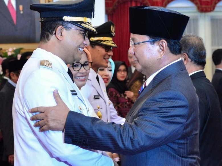 Gerindra Tak akan Dorong Anies Maju Dampingi Prabowo di Pilpres