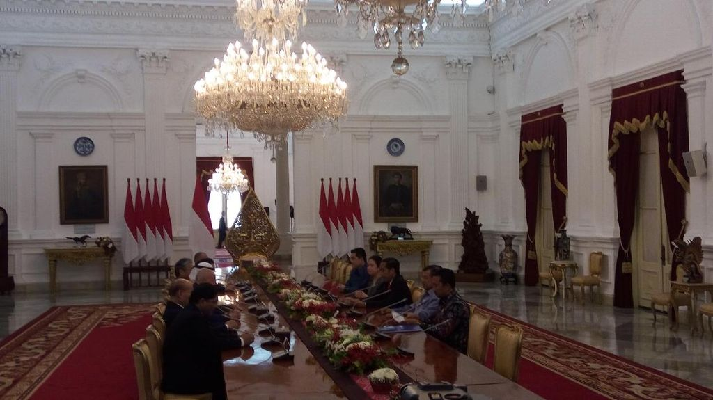 Presiden OCA Temui Jokowi-JK Bahas Asian Games 2018
