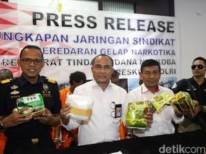 Polisi Gagalkan Penyelundupan 38 Kilogram Sabu Malaysia