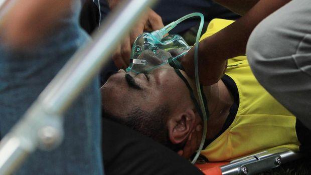 Penjaga gawang Persela Lamongan, Choirul Huda meninggal setelah mengalami cedera fatal.