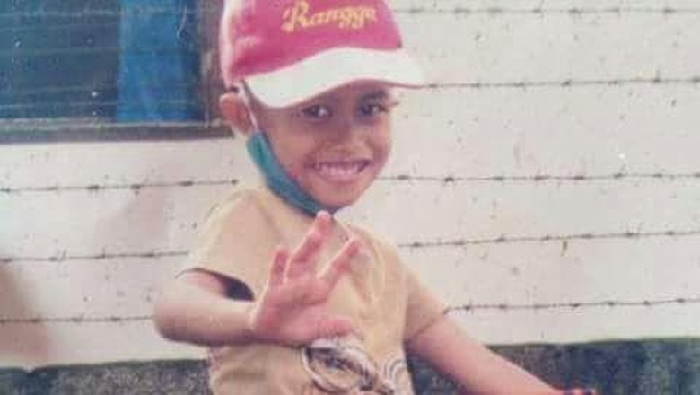 Rangga, mengalami Rhabdomyosarcoma sebelum meninggal/ Foto: dok pribadi