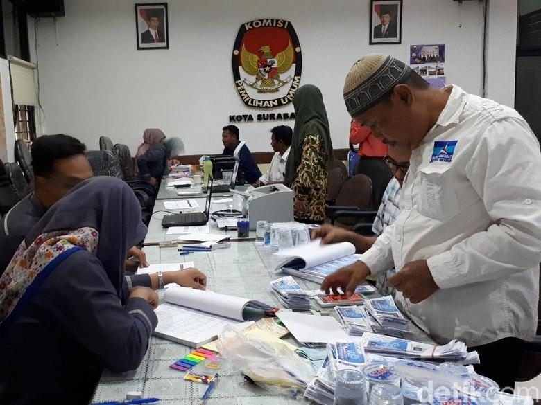 Sudah 13 Parpol Terdaftar di KPU Kota Surabaya