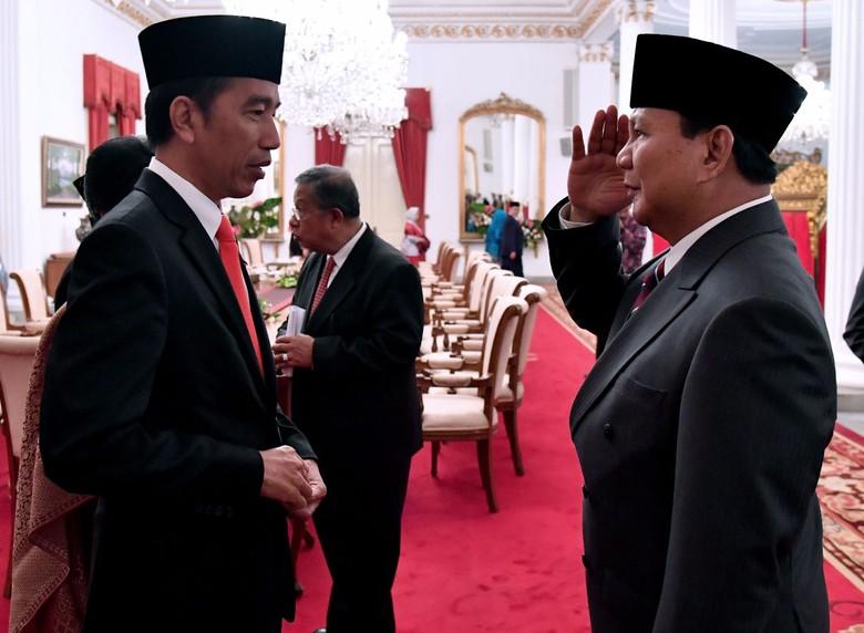 Indo Barometer: Jokowi-Prabowo Pasangan Terkuat