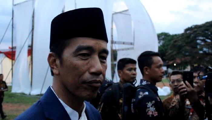 Presiden Jokowi (Hakim Ghani/detikcom)