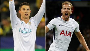 Ronaldo vs Kane dalam Statistik