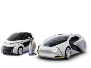3 Kendaraan Listrik Toyota Punya Otak Sendiri
