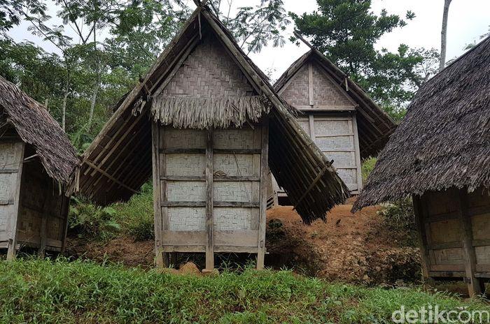 Lumbung ini bisa menampung padi bahkan sampai puluhan tahun.