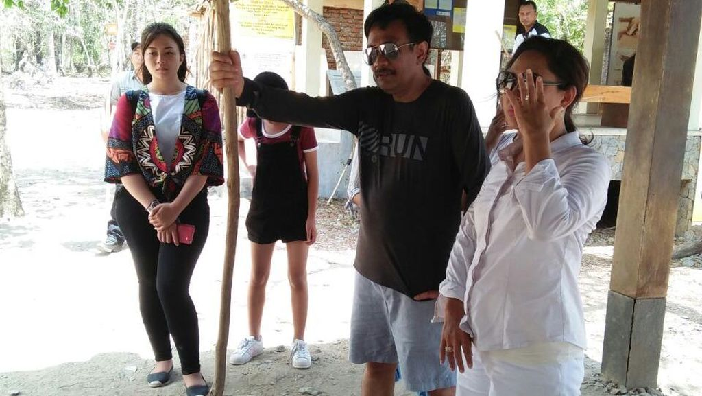 Datang ke Pulau Komodo, Djarot Disambut Antusias Warga