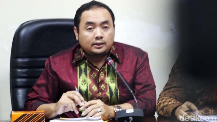 Koordinator bidang Pengawasam dan Sosialisasi Bawaslu Mochammad Afifuddin (Foto: Grandyos Zafna/detikcom)