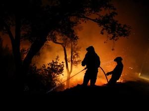 Kini Kebakaran Mengancam Warga Italia