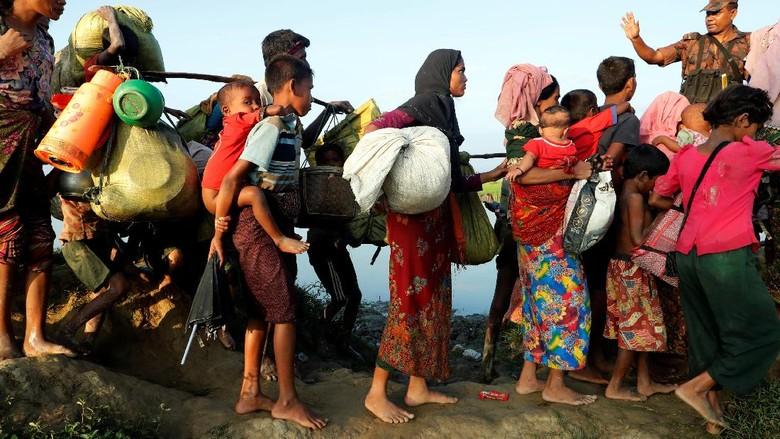Prihatin Soal Rohingya, AS Pertimbangkan Sanksi terhadap Myanmar