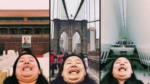 Chinning, Gaya Selfie Traveling Baru yang Apa Adanya
