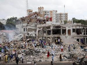Korban Tewas Ledakan Bom Truk di Somalia Bertambah Jadi 358 Orang