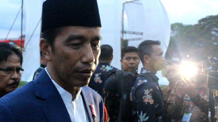 Foto: Presiden Jokowi. (Hakim Ghani/detikcom).