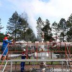 Pembangkit Listrik Panas Bumi 55 MW di Sumsel Kelar 2019