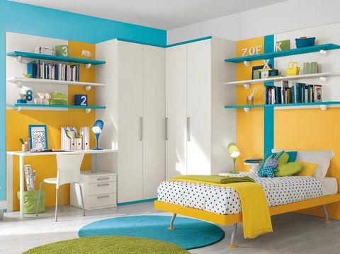 Kamar Bercat Kuning, Solusi untuk Anak yang Sulit Berkonsentrasi
