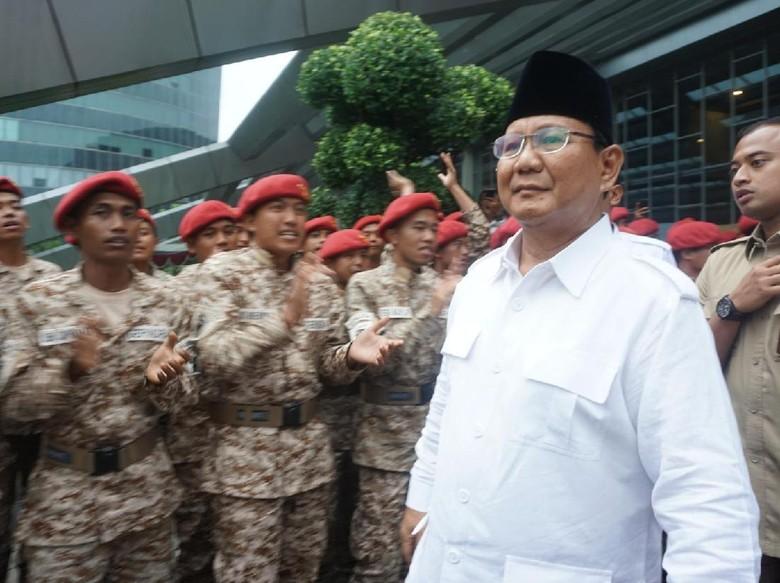Ini Pesan Prabowo untuk Anies-Sandi