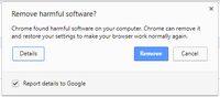 Google Upgrade Cleanup Tool untuk Chrome di Windows