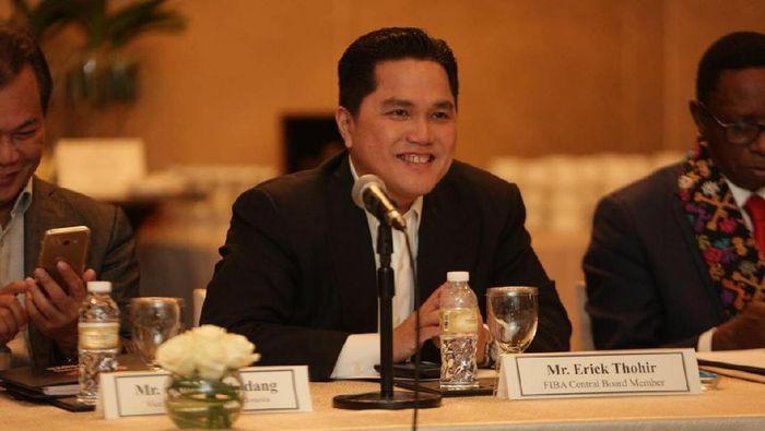 Erick Thohir, presiden SEABA (dok. Perbasi)