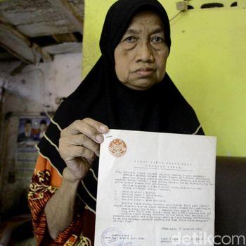 Nenek di Pekalongan Digugat Pemegang Sertifikat Tanahnya Sendiri