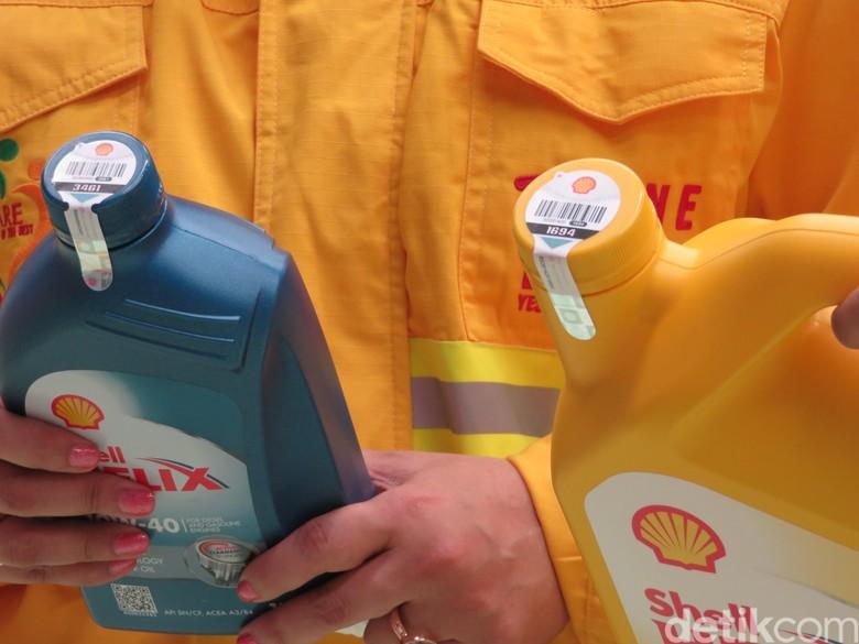 Cegah Pemalsuan Pelumas, Shell Tawarkan Teknologi Antibajak (Foto: Ruly Kurniawan)