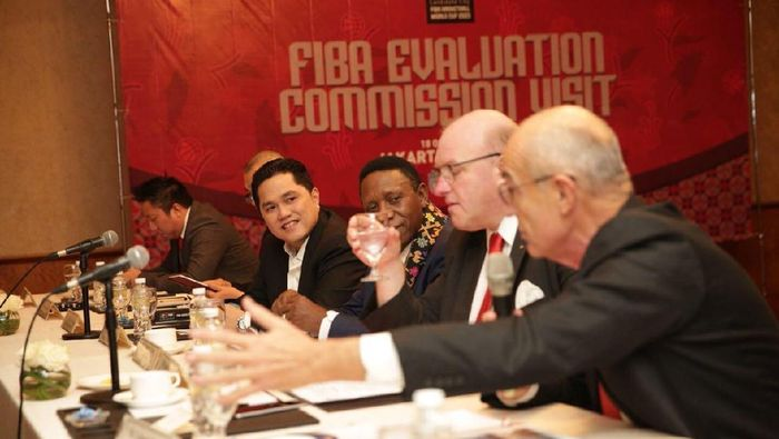 FIBA mengecek keseriusan Indonesia mengajukan diri sebagai tuan rumah Piala Dunai 2023. dok. Perbasi)