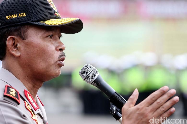 Demo 3 Tahun Jokowi-JK di Istana, Polisi Dilarang Bawa Senpi