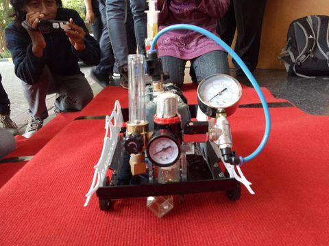 Mobil Gas Buatan Mahasiswa ITS Siap Mejeng di Amerika