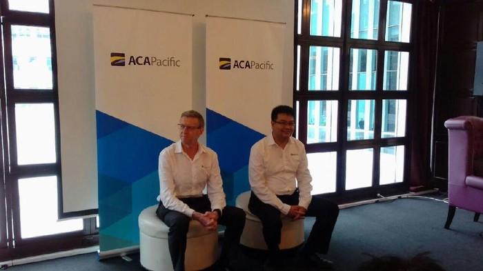 Craig Gledhill, CEO Aca Pacific Group (kiri). Foto: Aca Pacific