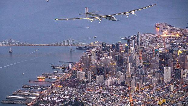 Kota San Fransisco dari atas/