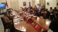 Kumpulkan Menteri di Bogor, Jokowi Ingin Ekonomi Desa Bergerak