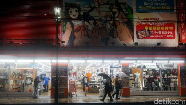 Toko yang menjual kostum cosplay (Wahyu/detikTravel)