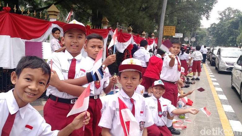 Murid di DKI yang Libur Asian Games Diberi PR agar Tak Main Gadget