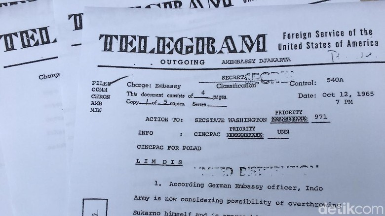 Dokumen Rahasia AS Ungkap Praktik Korupsi di Awal Orde Baru
