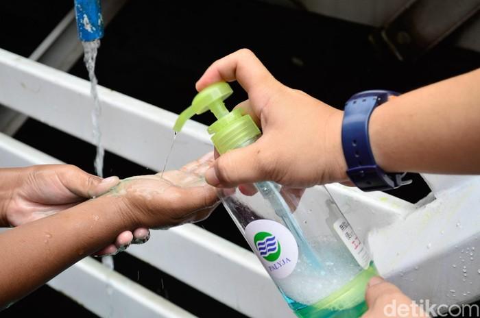 Keseruan di Acara Cuci Tangan Sedunia