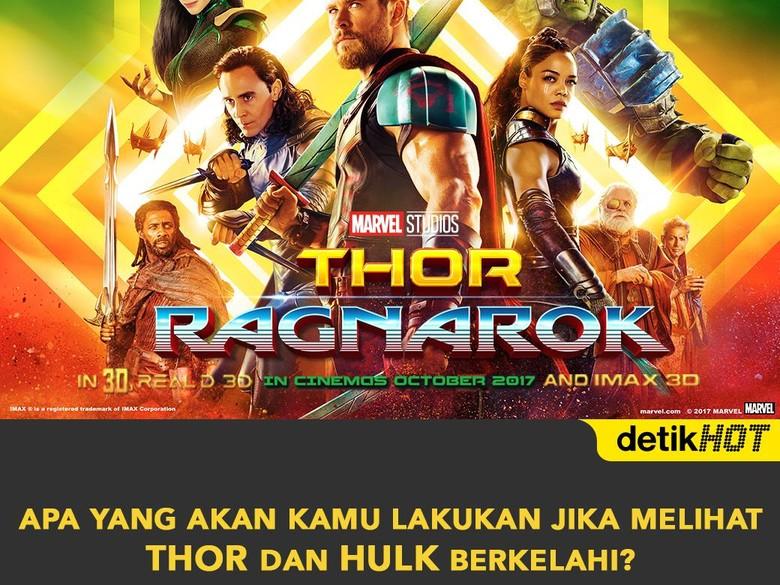 Yuk! Ikut Kuis detikHOT Bagi-bagi 40 Tiket Nonton Film Thor: Ragnarok