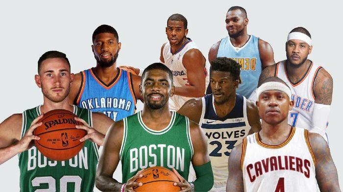 NBA 2017/2018. Foto: Nadia Permatasari W/detikcom