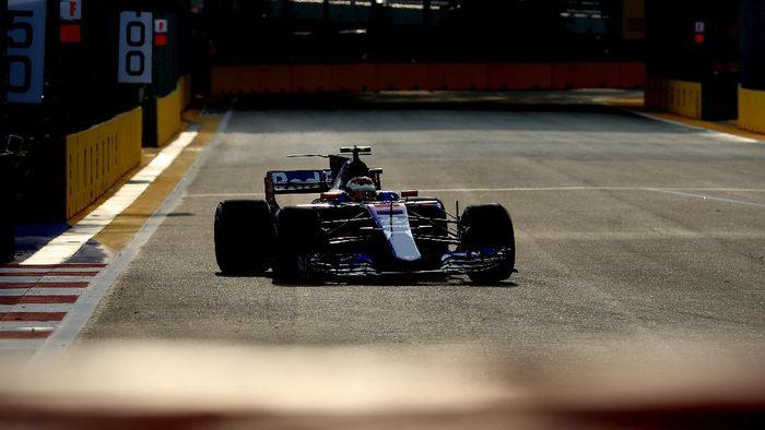 Sean Gelael di di sesi FP1 GP Malaysia bareng Toro Rosso (dok. Toro Rosso)